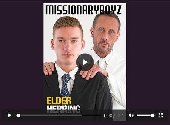 Missionary Boys 'Elder Herring' DVD gay porn movie trailer