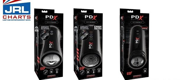 Pipedream Debuts Trio of PDX Elite 'Moto-Masturbators' for Men-jrl-charts-2020-09-21