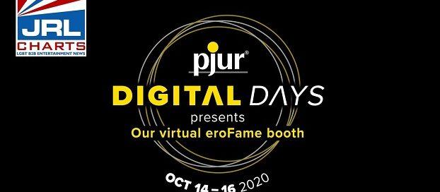 Pjur Announce 'Digital Days' in Its Virtual eroFame Booth