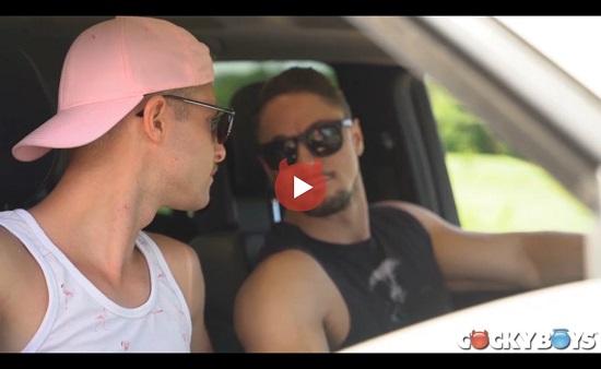 Skyy Knox and Benjamin Blue-cockyboys-gay-porn-movie-trailer