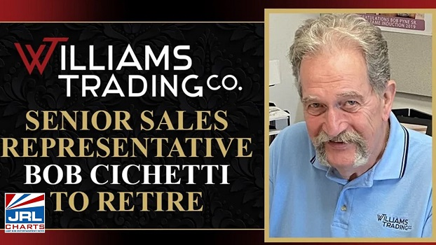 Williams Trading-Senior Sales Rep. Bob Cichetti Announce Retirement