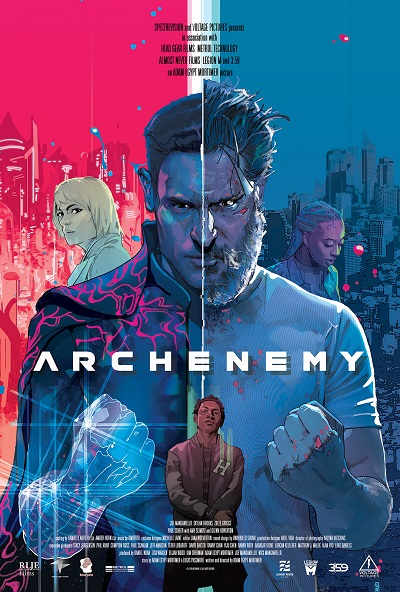 Archenemy-Offiial-Poster-RLJE Films (2020)