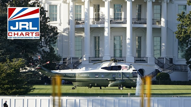 Live-President Trump Flown To Walter Reed Medical Center-2020-10-02-jrl-charts