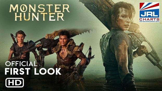 MONSTER HUNTER (2020) Tony Jaa, Milla Jovovich First Look-jrl-charts-movie-trailers