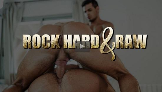 Rock Hard & Raw gay porn movie trailer - Lucas Entertainment
