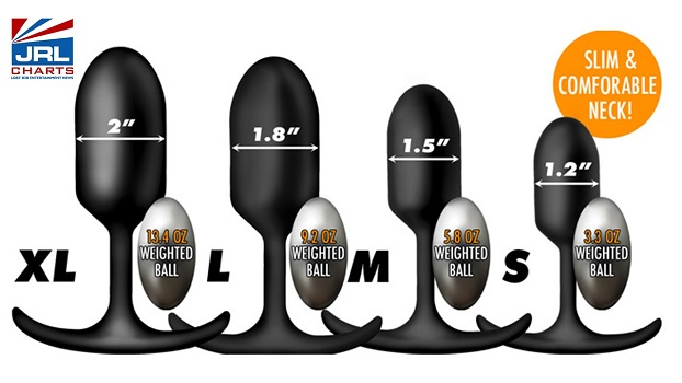 XR Brands Introduces 'Heavy Hitters' Anal Plugs-2020-10-26-jrl-charts