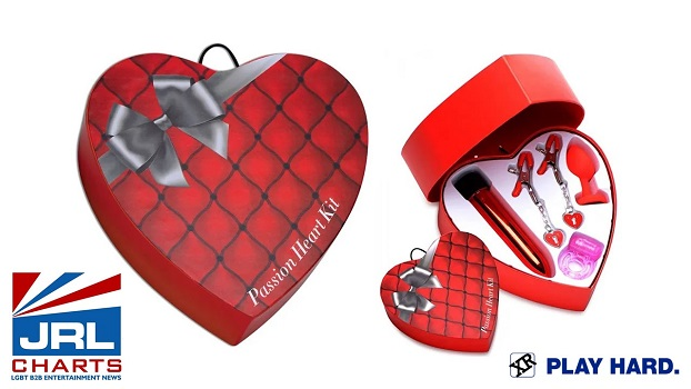 XR Brands Launch Frisky Couples Valentine's Heart Box Kits