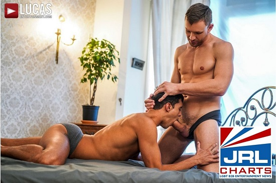 Andrey Vic Splits Ray Crosswell In Two-gay-porn-Lucas-Entertainment-jrl-charts
