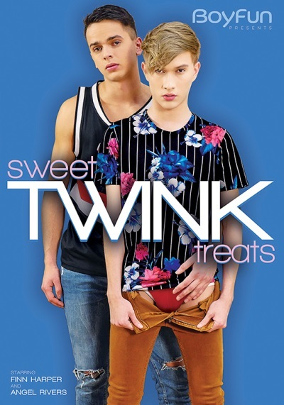 BoyFun- Sweet Twink Treats-DVD-Front-Cover
