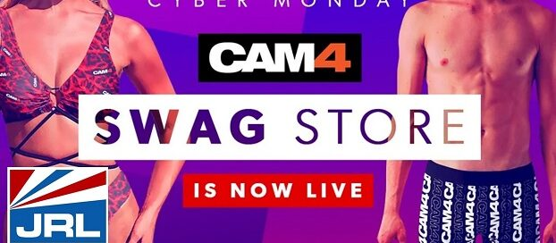 CAM4 Swag Store Featuring New Apparel Goes Live-2020-11-30-jrl-charts