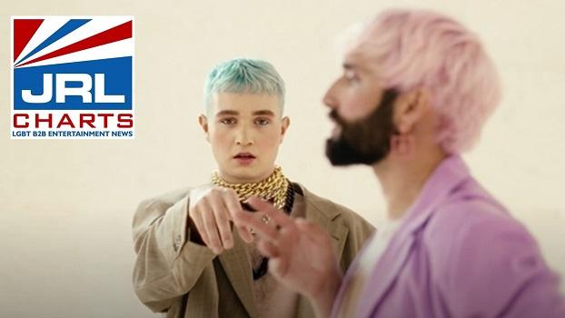 Conchita Wurst 'Lovemachine' MV ft Lou Asril-2020-11-14-jrl-charts-gay-music-news