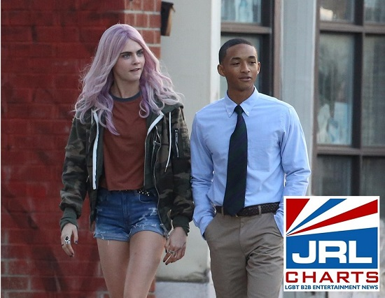 Jaden Smith and Cara Delevingne in Life in a Year (2020)