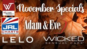November Stock Up Sale at Williams Trading Co Kicks Off with Adam & Eve