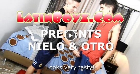 Raw twinks fucking and sucking NIELO and OTRO-gay-porn-scene