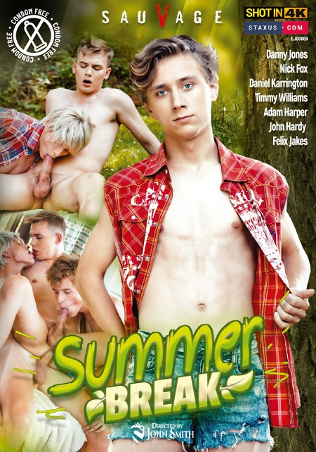 Summer Break DVD-front-cover-SauVage-Staxus-Vimpex