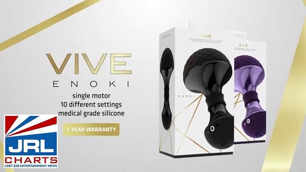 VIVE ENOKI 10-Function Vibe Promo Video by SHOTS America-2020-11-16-jrl-charts