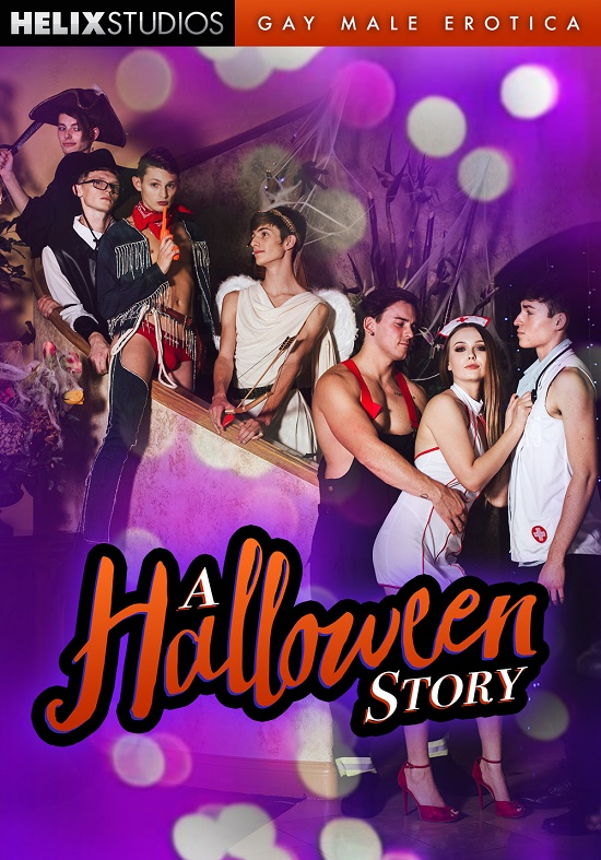 A Halloween Story DVD-front-Cover-Helix Studios