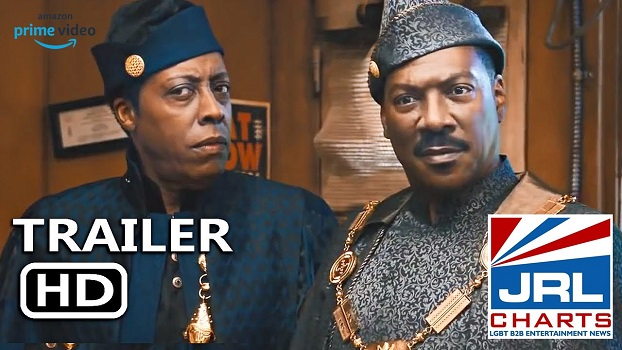 COMING TO AMERICA 2 Trailer (2021) Eddie Murphy, Arsenio Hall-Amazon-Prime-JRL-CHARTS