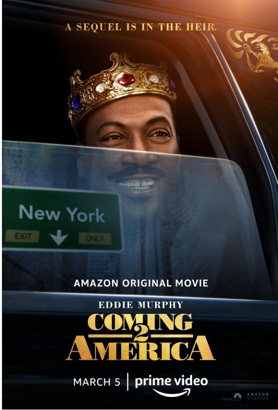 Coming to America 2- Eddie Murphy - Official Poster (2021)