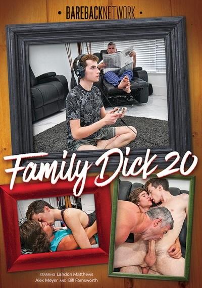 Family Dick 20 DVD-Front-Cover-Bareback-Network