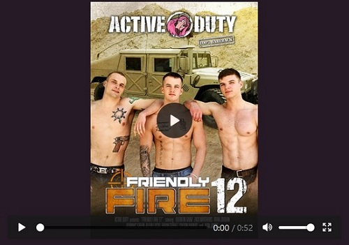 Friendly Fire 12 DVD-gay-porn-movie-trailer-Active-Duty-Pulse-Distribution