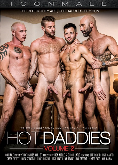 Hot Daddies Vol 2 DVD - Front Cover-Icon Male-Mile High Media