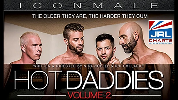 Icon Male - Hot Daddies Vol. 2 DVD Streets Nationwide-2020-12-01-jrl-charts