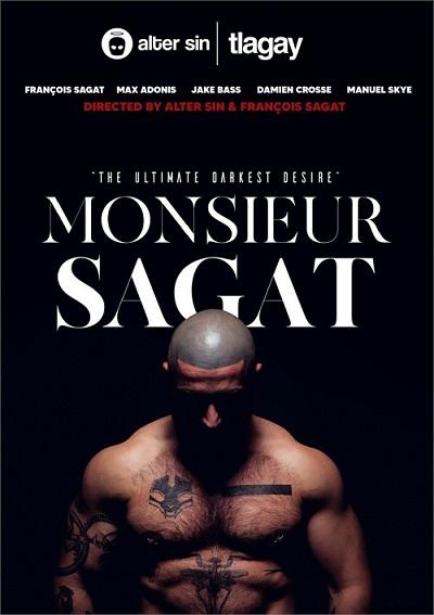 Monsieur Sagat DVD (2020) front cover-TLAgay