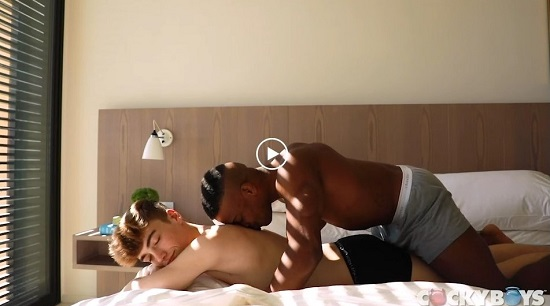 NEW DAY-Adrian Hart and Tannor Reed-CockyBoys-gay-porn-movie-trailer