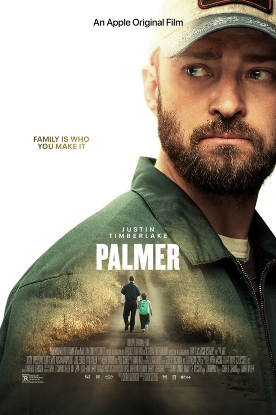 Palmer (2021)  Justin Timberlake-Official Poster - AppleTV Plus