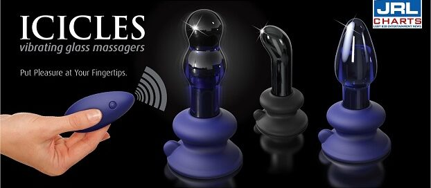 Pipedream Unveils New Vibrating 'Icicles' Glass Massagers