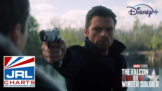 Sebastian Stan in The Falcon and the Winter Soldier (2021)