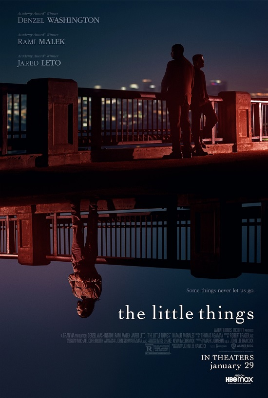 The Little Things Official Poster - Warner Bros Pictures (2021)