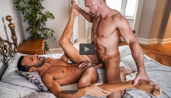 Tomas Brand & Gustavo Cruz Strip Off Their Suits-gay-porn-movie-trailer