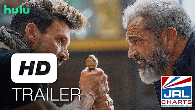 BOSS LEVEL Official Trailer (2021) Frank Grillo and Mel Gibson-Hulu-2021-01-19-jrl-charts
