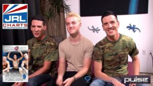 Battlefield Threesomes 9 DVD-Active Duty-Gay-Raw-Pulse-Trailer-Release-Date-2021-01-12-JRL-CHARTS