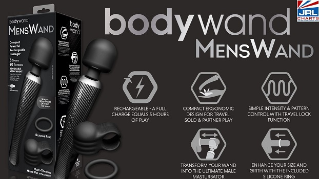 Bodywand 3-Piece Mens Wand Set Now Available at Xgen-2021-01-12-JRL-CHARTS