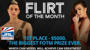 Flirt4Free Announce $5,000 for Flirt of the Month Title-2021-01-06-JRL-CHARTS