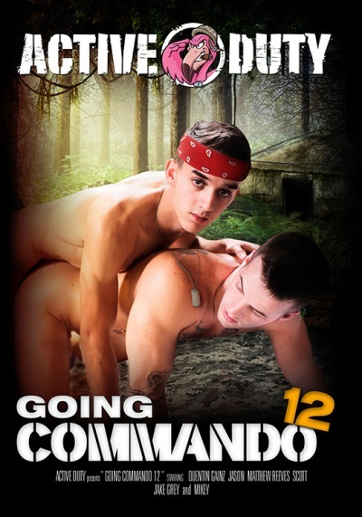Going Commando 12 DVD-front-cover-Active Duty