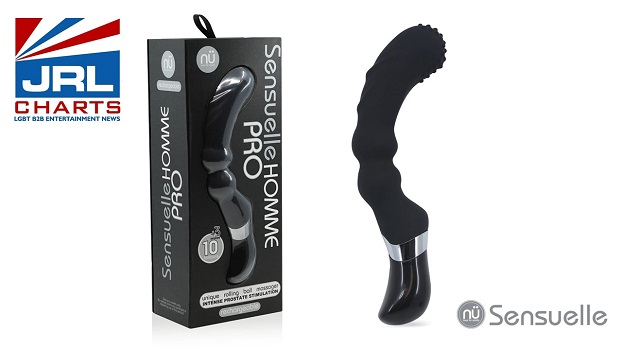 Homme Pro 10 Function Vibrating Prostate Massager is Exquisite-2021-01-11-JRL-CHARTS
