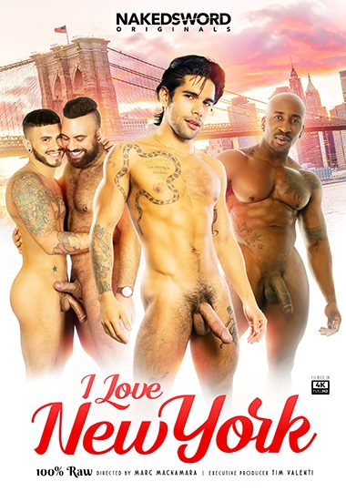 I Love New York DVD-NakedSword-Originals
