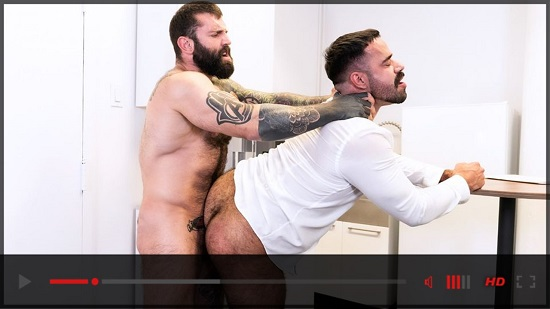 My Boss Is A Dick EP01-gay-porn-movie-trailer-Raging Stallion