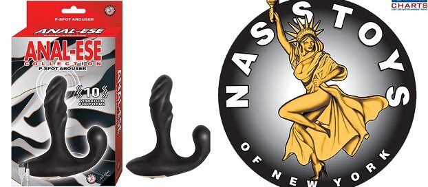 Nasstoys ANAL-ESE P-SPOT Arouser delivers 10 Levels of Pleasure-2021-01-15-JRL-CHARTS