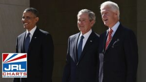 Obama, Bush and Clinton Celebrate Biden Inauguration-2021-01-20-jrl-charts-LGBT-Politics