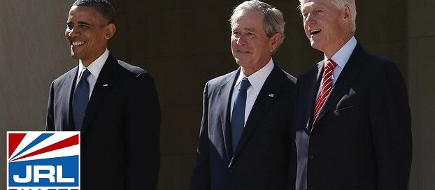 Obama, Bush and Clinton Celebrate Biden Inauguration-2021-01-20-jrl-charts-LGBT-Politics