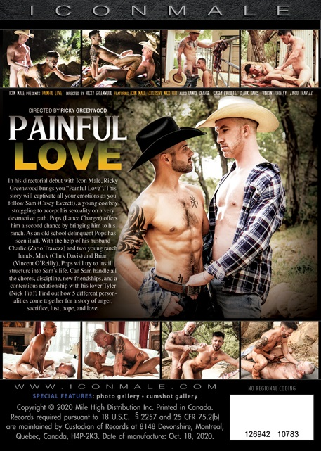 Painful Love DVD-back-cover-Icon Male
