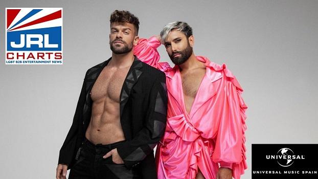 Ricky Merino-Conchita Wurst-Smalltown Boy-Music Video-2021-01-10-JRL-CHARTS-gay-music-news
