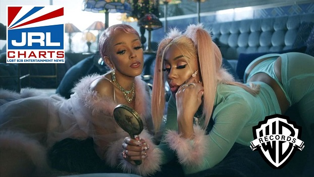 Saweetie X Doja Cat-Best Friend-music-video-debuts-with-3 point five Million Views-jrl-charts-music-videos