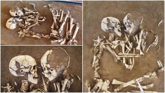 The Lovers Of Valdaro 'Eternal Embrace-Skeletens-in-New-Music-Video