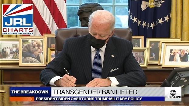 Transgender Military Ban Lifted by President Biden-2021-01-25-jrl-charts-LGBT-Politics